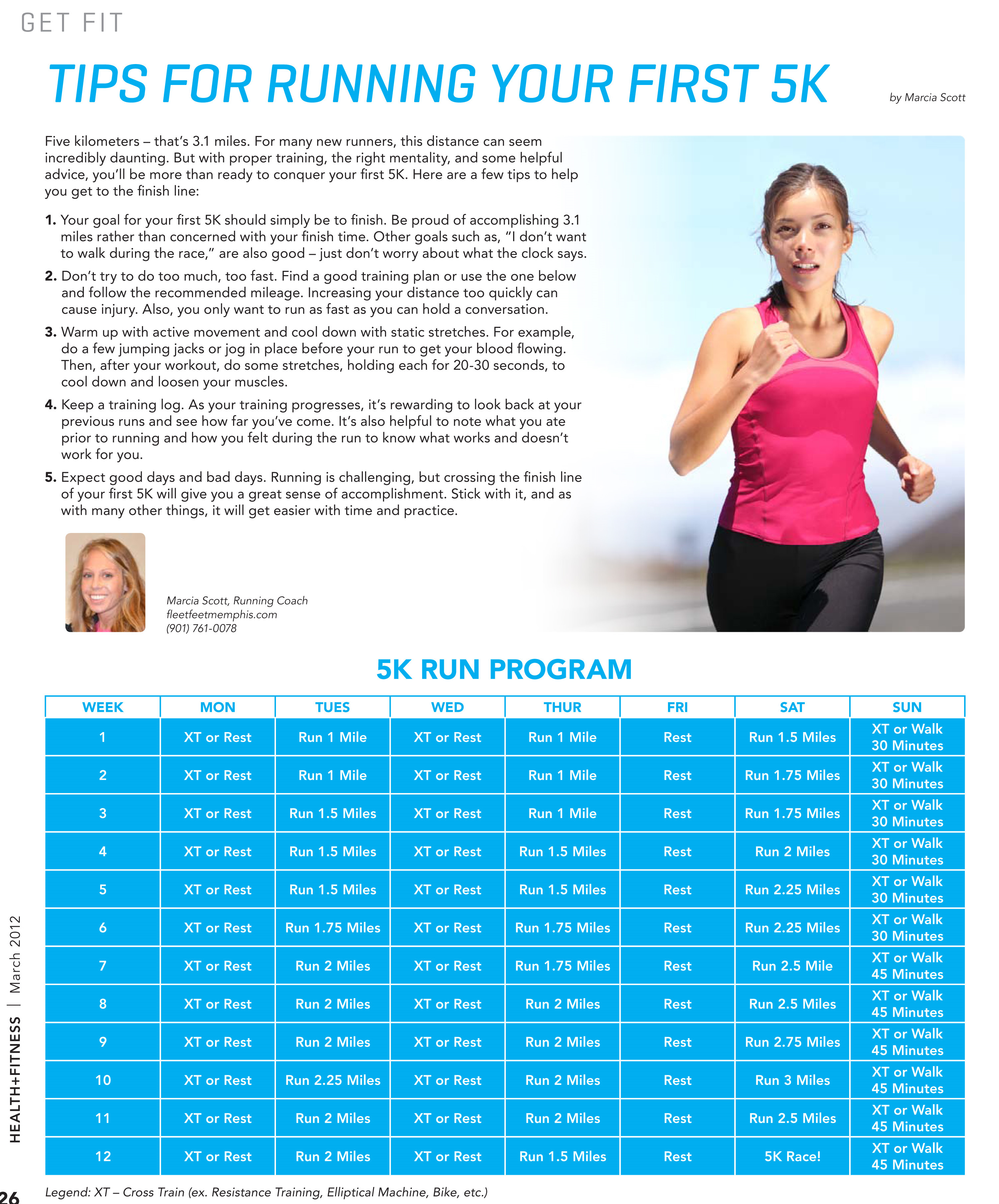 Tips For Your First 5K